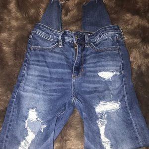 American eagle jeans super hi rise